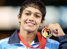 Babita Kumari Won Gold at CWG 2014