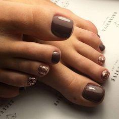 Fall Toe Nails, Pretty Toe Nails, Cute Toe Nails, Spring Nails, Summer Nails, Toe Nail Color, Toe Nail Art, Nail Colors, Acrylic Nails