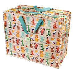 dotcomgiftshop 24747 JUMBO Bag Riesentasche Vintage Ivy Retro