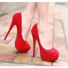 14cm Lovely Heels in Red / Black / Blue / Pink for R260.00