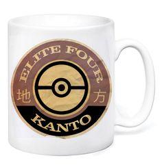 Elite Four Mug by GameTee (£7.99) #Pokemon