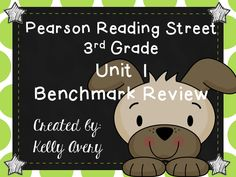 This download was designed to prepare your students for success on the Pearson Reading Street's 3rd Grade Unit 1 Benchmark test. It was created with sample questions, passages, and skills like they will see on the test.