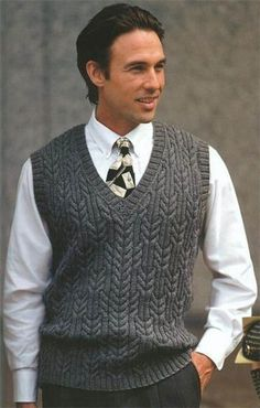 Men How to Knit Men& Sweater? ,, We have prepared a more beautiful narrated video. A video explaining how to knit a male sweater for those who want to knit male sweater models. Aran Knitting Patterns, Knit Vest Pattern, Knitting Designs, Knit Patterns, Sweater Patterns, Free Knitting, Pulls, Knitwear, Clothes