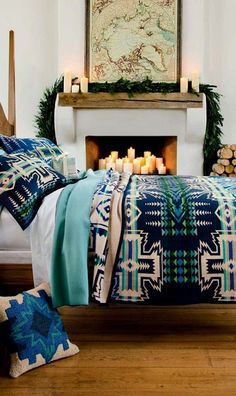 Pendleton decor in any part of your space is always a wise idea.