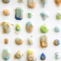 Learn how to make these gems out of resin!