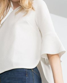Image 6 of JACQUARD TOP from Zara