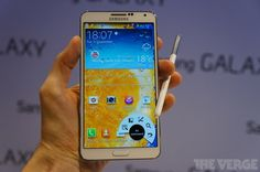 Samsung's Galaxy Note 3 is bigger, faster, thinner, and lighter, but is it any better? Samsung Note 3, Samsung Galaxy, Android Security, Iphone App Development, Gadget World, Galaxy Note 3, Cool Tech, Android Apps, Free Android
