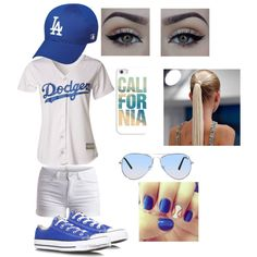 L.A. Dodgers Game outfit! ⚾️