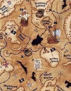 RESERVED FOR lummelliese. Pirate Treasure MapsPirate ...