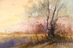 Sunset On 108th Print By Sandra Strohschein