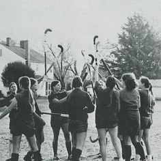 Who's ready for Field Hockey? #TBT #SMSvictory #girlsplaysports