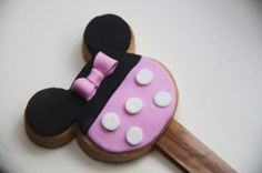 Minnie Mouse Cookie Tutorial