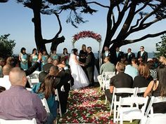 Gatherings, a Private Venue, and Monterey Beach Weddings Pacific Grove California Wedding Venues 1