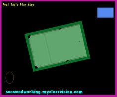 Pool Table Plan View 122111 - Woodworking Plans and Projects!