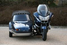 BMW R1200 RT with sidecar
