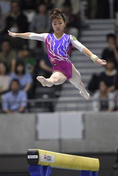 Asuka Teramoto Photos Photos - Asuka Teramoto looks on after competing on the balance beam during Japan National Gymnastics Apparatus Championships at the Takasaki Arena on June 25, 2017 in Takasaki, Japan. - Japan National Gymnastics Apparatus Championships - Day 2 #寺本明日香 #体操 #女子
