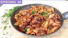 Pasta a la siciliana con atun y berenjenas - #CocinaConMarco #RecetasItalianas