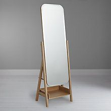 Design Project by John Lewis Mirror, Oak, Oak Furniture Styles, Furniture Design, Mirror Hangers, Cheval Mirror, Dressing Mirror, Mirror With Shelf, Standing Mirror, Floor Mirror, Home Living Room