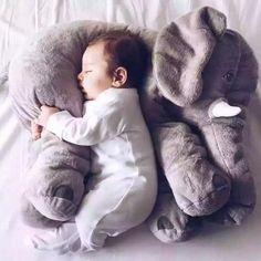 Infant Soft  Elephant Playmate Calm Baby Toys Elephant Pillow Plush Toys Stuffed