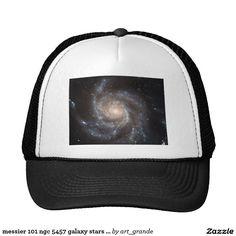 messier 101 ngc 5457 galaxy stars space trucker hat