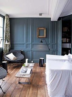 1000 images about couleurs maison on pinterest salons - Deco peinture salon 2 couleurs ...