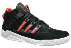 official photos 2e579 72651 Adidas Originals Court Blaze LQC (NEW) Mens Shoes Nubuck Leather, Black   Red