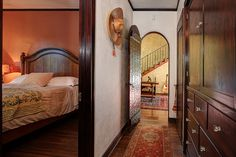 spanish colonial master bedroom - Google Search