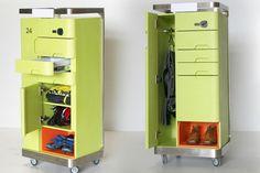 Mobiler Patientenschrank #furniture  http://www.microgiants.com/mobile-patient/