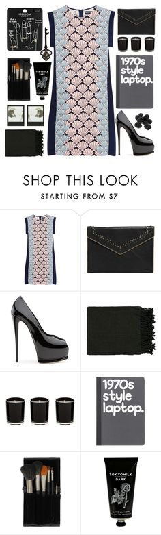 """Thank you for 170k followers!!! "" by karineminzonwilson ❤ liked on Polyvore featuring Markus Lupfer, Rebecca Minkoff, Surya, Topshop, TokyoMilk, Summer, black and dress"
