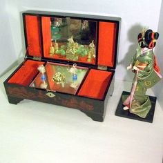 Japanese Jewelry Box I always wanted one when I was a kid I