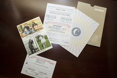 Our beautiful wedding suite.  The Save the Date was created by Minted.com  and the actual invitation was created by a dear, amazing friend of mine. #wedding #socalwedding #theknot #weddingwire #invitationsuite #weddinginvitation #stylemepretty #mfarmerphotography
