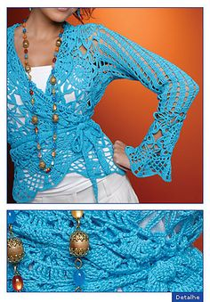 Crochet cardigan - free pattern!