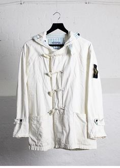 Football Casual Clothing, Football Casuals, Duffle Coat, Stone Island, Vintage Jacket, Rain Jacket, Windbreaker, Street Wear, Raincoat