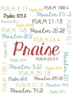 Bible quotes about praise is simple reminding us of what praise is and who it's about. Praise is not horizontial and it's not about us.