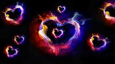 flaming/hearts - Google Search this heart is sexy lol