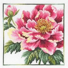 Шейла Хадсон и ее вышитые крестиком цветы - Ярмарка Мастеров - ручная работа, handmade