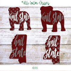 Mississippi State Bulldogs Chevron Pattern Eps Svg