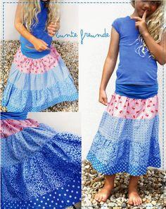 bunte freunde: sommerliches blau....