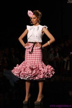 Traje de Flamenca - Sara-de-Benitez - SIMOF-2013