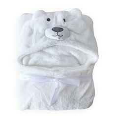 Baby Boys Blanket Towels Girls Robes Winter Spring Cartoon Bear Sleepwear Robe Baby Hooded Bathrobe White Pink