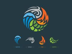 Simple Solutions To Problems With Your Plumbing – Plumbing 4 Elements, Four Elements Tattoo, Earth Logo, Element Symbols, Logo Design Services, Design Agency, Logo Design Inspiration, Vector Art, Art Drawings