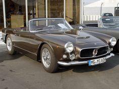 1958 Maserati 3500 Spider Vignale