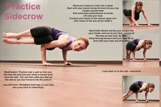 Side Crow Yoga | side crow