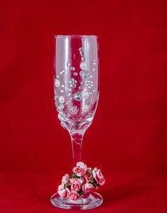 ideas originales decoracion de copas para boda imponentes imagenes copas decoradas. Black Bedroom Furniture Sets. Home Design Ideas