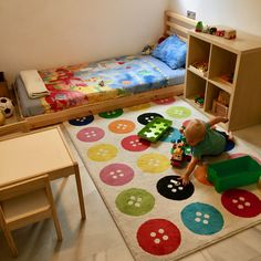Cameretta Montessori 12-18 mesi (+home tour)