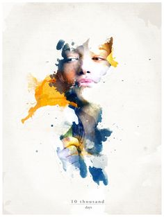 10 000 days by Tomasz Soluch, via Behance