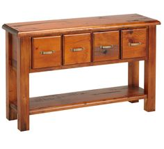 Normandy 4 Drawer Hall Table