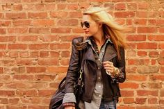 Atlantic-Pacific is a fashion and personal style site by Blair Eadie. Atlantic Pacific, Pacific City, City Slickers, Biker Chic, Fashion Sites, Women's Fashion, Grunge Look, Classy And Fabulous, Girls Be Like