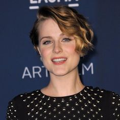 Evan Rachel Wood makes short hair look H-O-T. Click through to see more stars rocking this season's hottest hairstyles: http://www.womenshealthmag.com/beauty/celebrity-haircuts?cm_mmc=Pinterest-_-womenshealth-_-content-beauty-_-celebritieswithfreshhairstyles