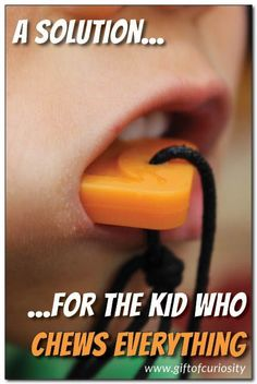 ChewiGems are a great product for meeting the sensory needs of kids who chew    Gift of Curiosity